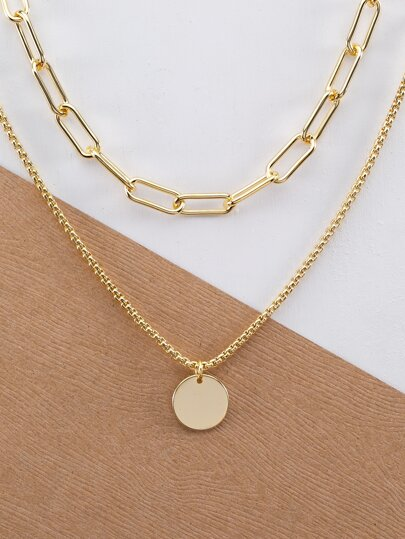 66d0581a1d5414 Necklaces for Women | Pearl & Silver Necklaces | SHEIN IN