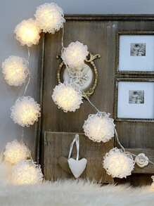 10pcs Flower Bulb String Light 12v