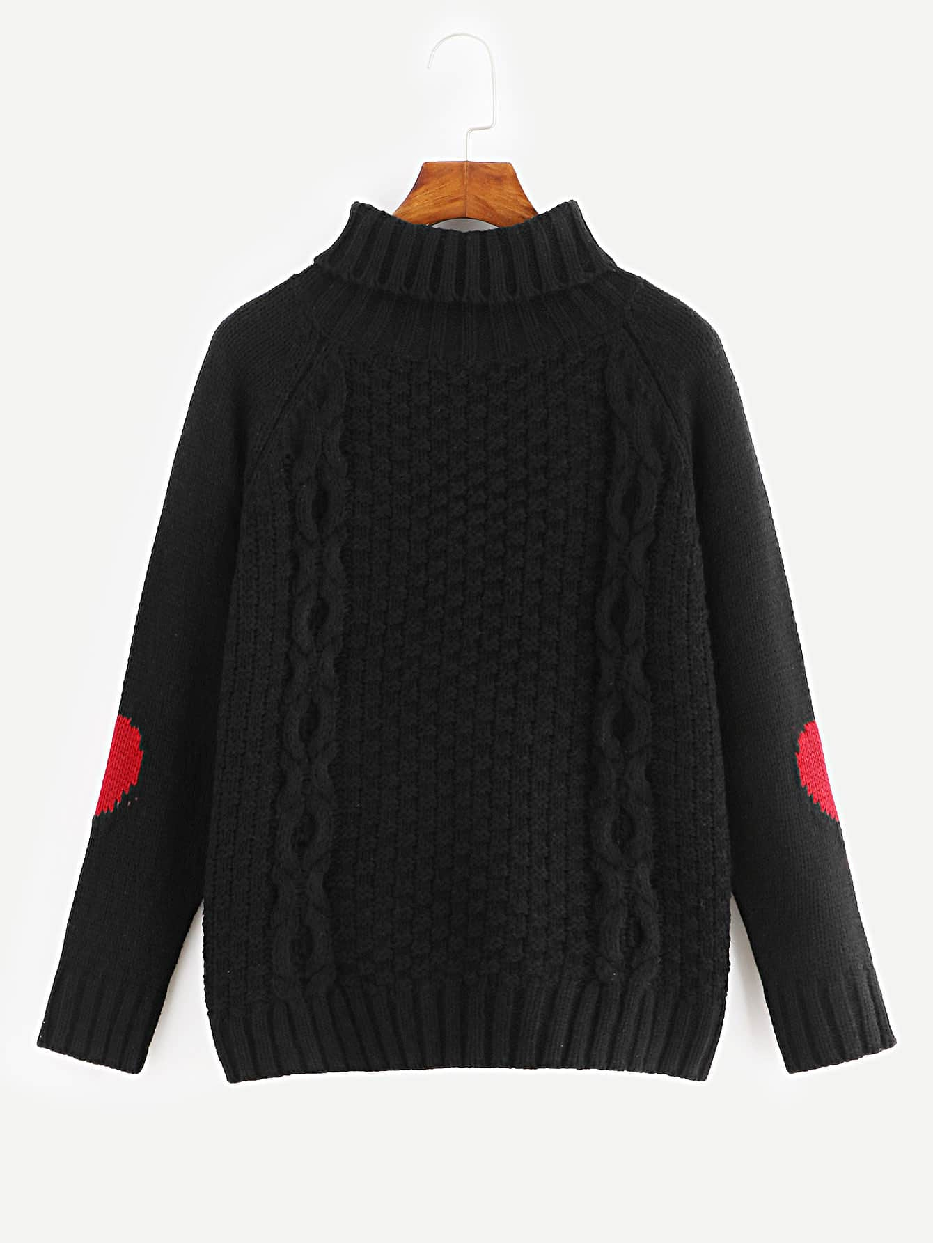 Turtle Neck Cable Knit Jumper Turtle Neck Cable Knit Jumper