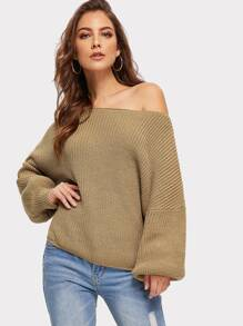 Drop Shoulder Oversized Jumper