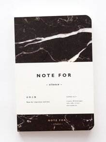 Marble Pattern Cover Notebook 80sheets