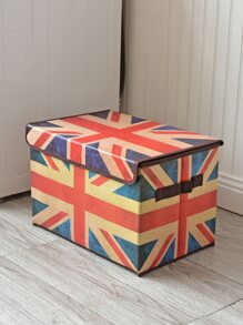Union Flag Print Storage Box