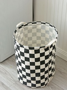Grid Round Storage Basket