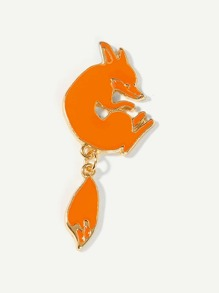 Fox Shaped Brooch