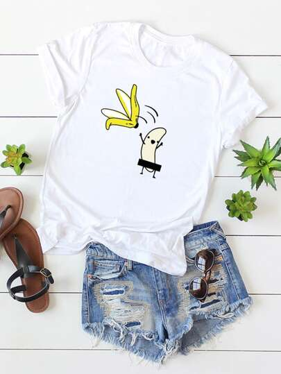 Cartoon Graphic Tee