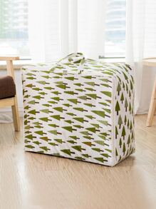 Tree Print Moisture Proof Quilt Storage Bag