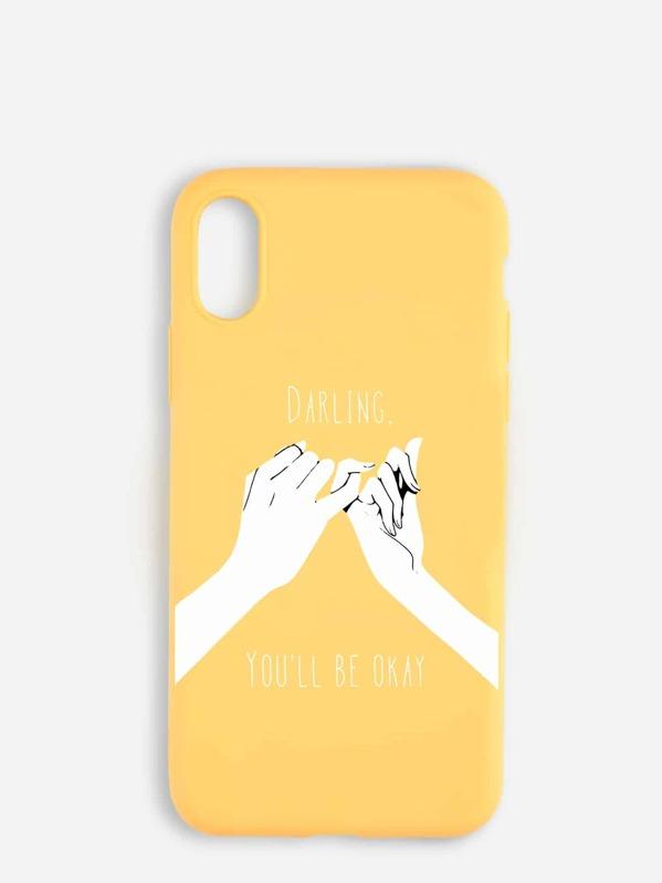 d6db2e93a6 Hand Print iPhone Case | SHEIN UK