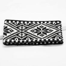 Two Tone Knit Headband