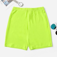 INOpets.com Anything for Pets Parents & Their Pets Plus Neon Lime Sports Shorts