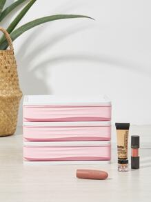 3 Layer Cosmetic Storage Box