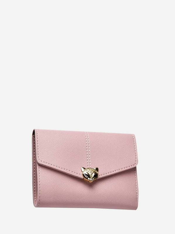 6492ef806 Metal Fox Decor Purse | SHEIN UK