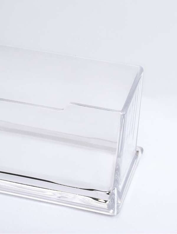 check out 8764e b809c Clear Business Card Desk Holder