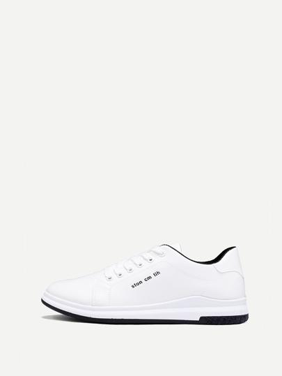 Guys Ombre Knit Sneakers Romwe