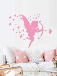 Cupid Print Wall Sticker