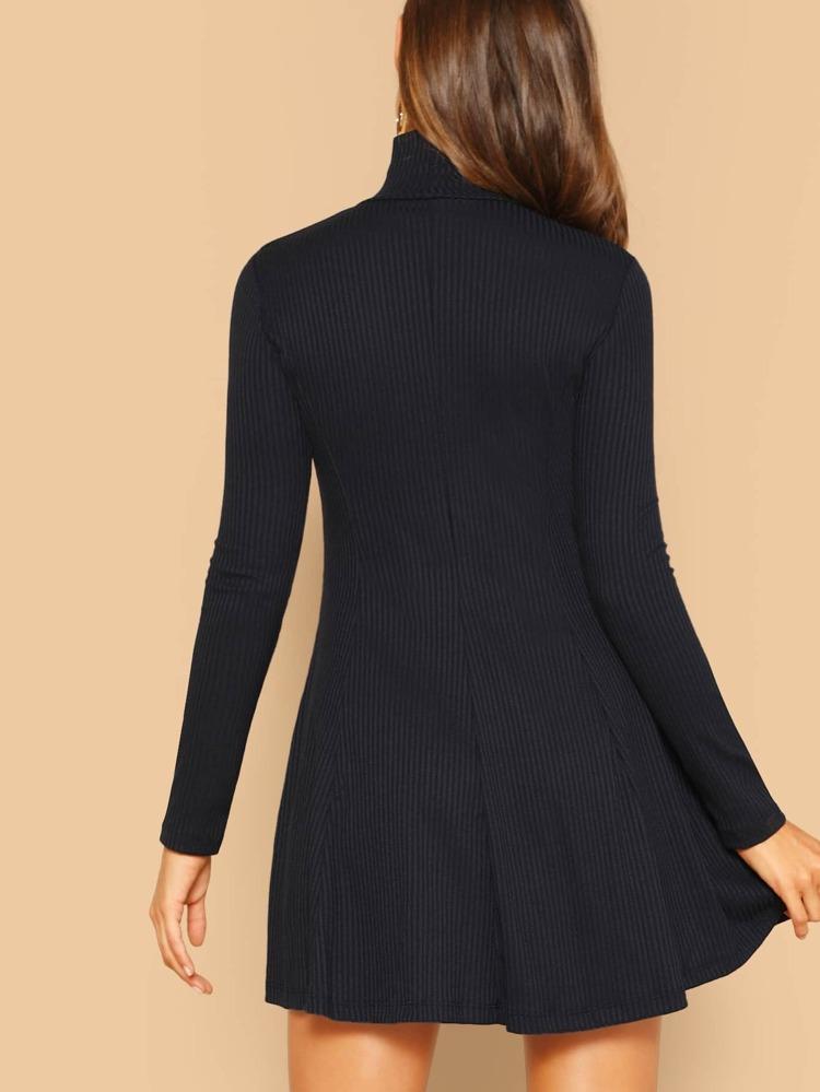 622c7bbb8ff1 Cheap Solid Long Sleeve Flowy Dress for sale Australia   SHEIN
