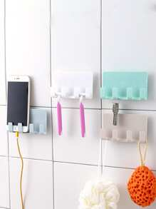 Random Color Wall Mounted Storage Rack 1pc