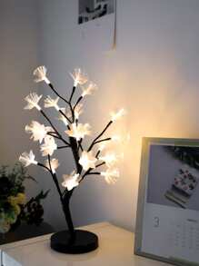 24pcs Bulb Tree Shaped Table Lamp 12V