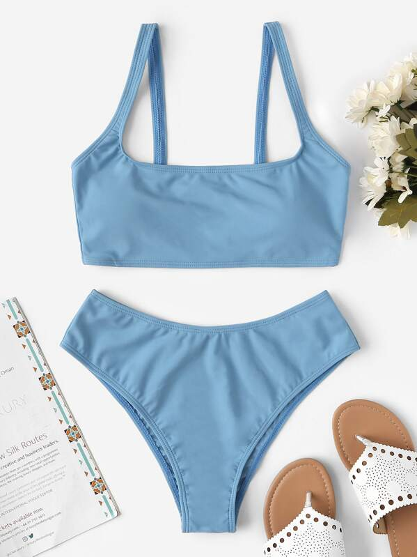 983b3654ff51 Cami Top With Cheeky Bikini Set