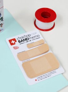 Band-aid Shaped Sticky Note 60sheets