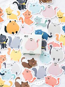 Boxed Cat Decal 45pcs