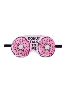 Donut Print Eye Patch