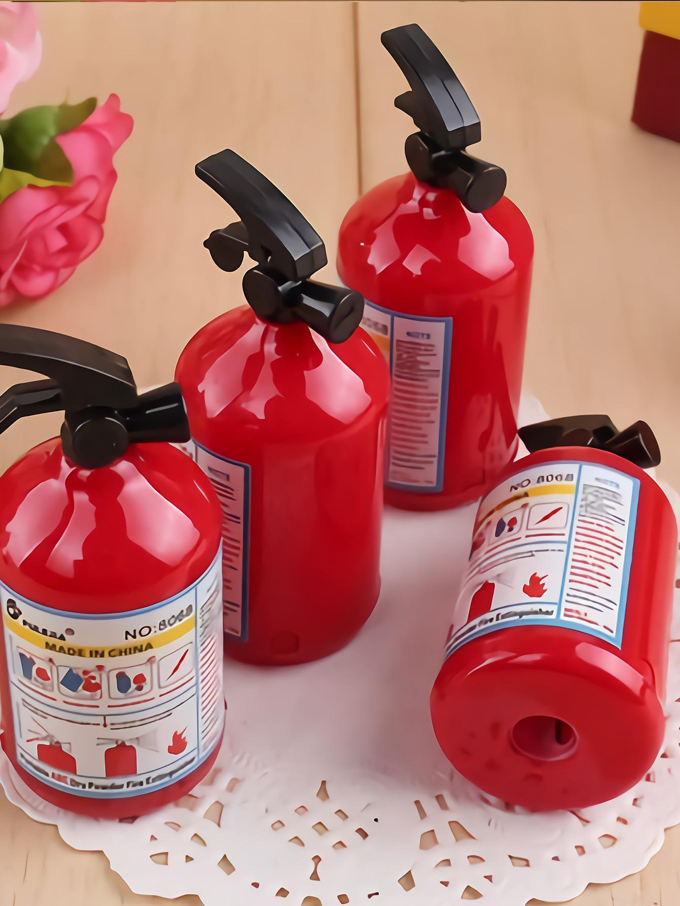 Fire Extinguisher Shaped Sharpener 1Pc