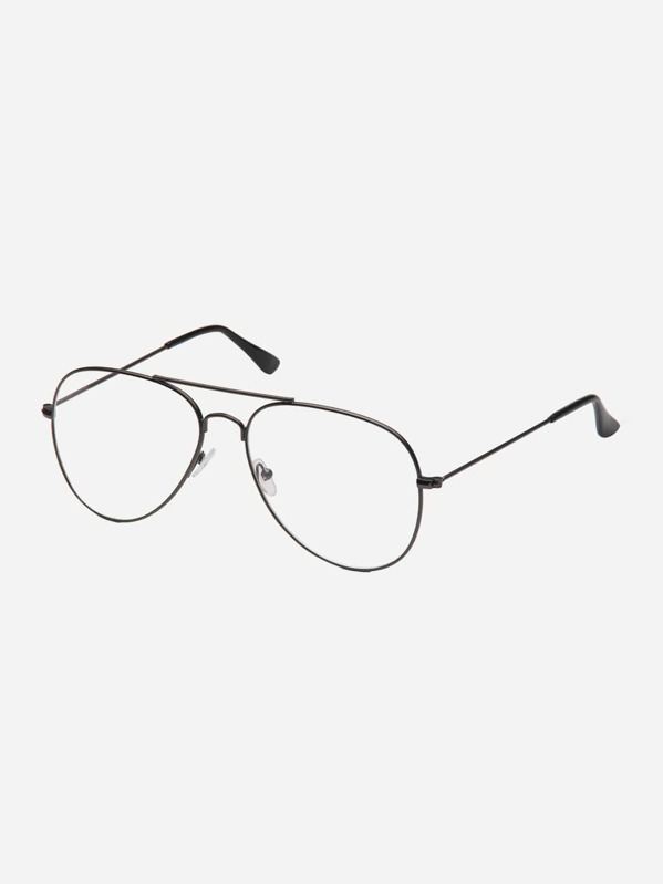 6e2d3d5dd8 Men Top Bar Metal Frame Glasses | SHEIN
