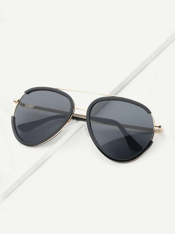28802dc888 Cheap Men Top Bar Metal Frame Sunglasses for sale Australia | SHEIN