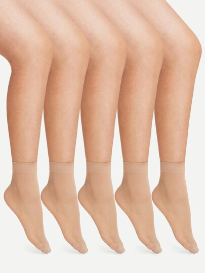 f36fe21dc Sheer Mesh Ankle Socks 5pairs