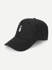Men Gesture Embroidery Baseball Cap