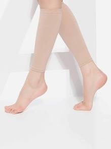 Compression Calf Length Footless Socks 1pair