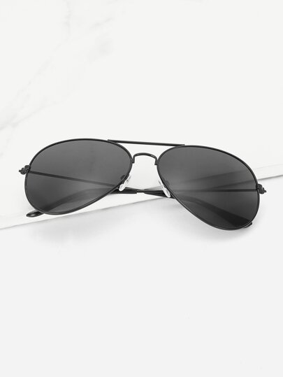 Guys Top Bar Aviator Sunglasses