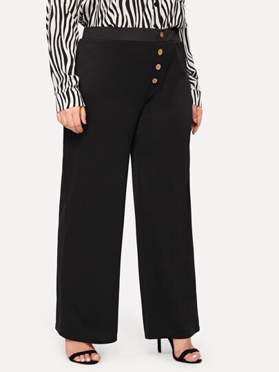 b7927a7f Plus Size Pants, Shop Plus Size Pants Online | SHEIN UK
