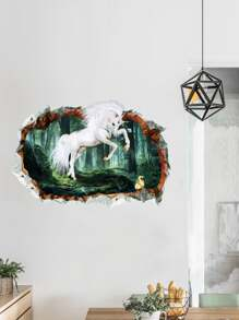 3D Horse Wall Sticker
