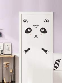 Squirrel Design Door Sticker