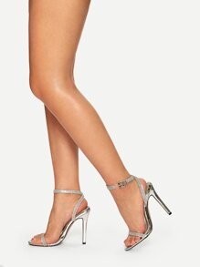 Solid Slingback Stiletto Heels