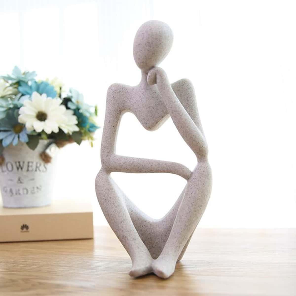 Abstrakte Menschen Skulptur