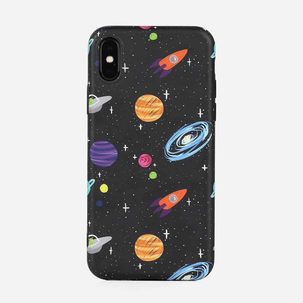 Galaxy-Muster iPhone Fall