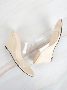 Two Part Transparent Wedges