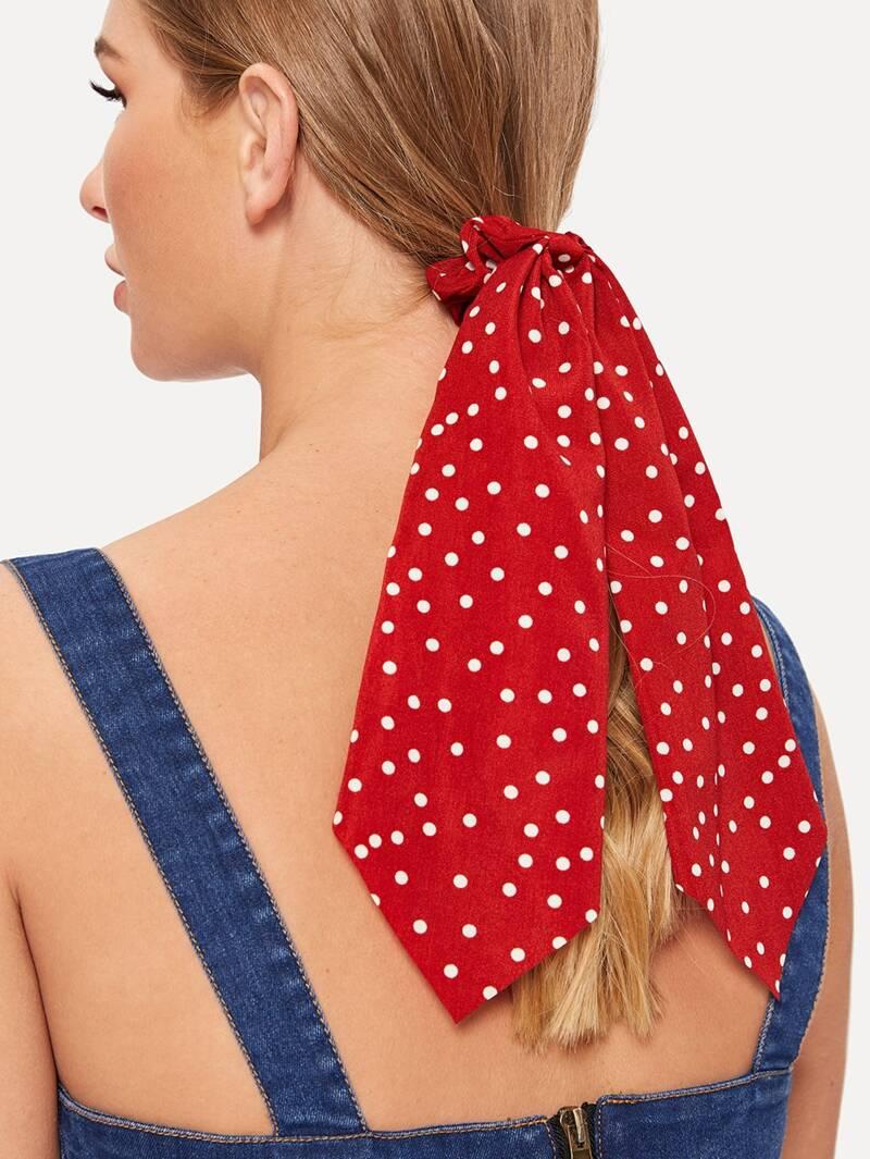 peinados para cabello largo cola de caballo con pañuelo