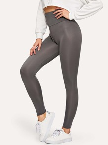 Active High Waist Crop Leggings