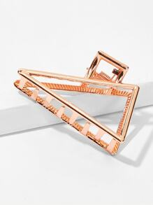 Triangle Shaped Metal Hair Clip