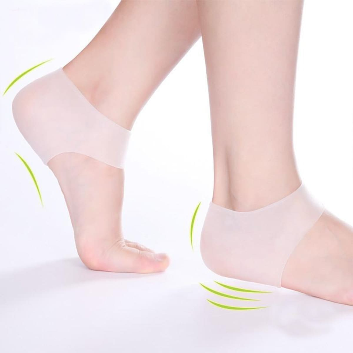 SHEIN coupon: Silicone Heel Protector 1pair