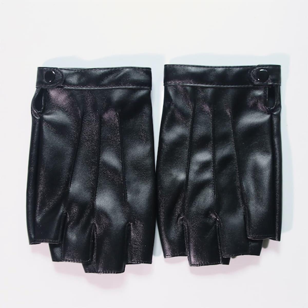 Männer Halber Finger Handschuhe
