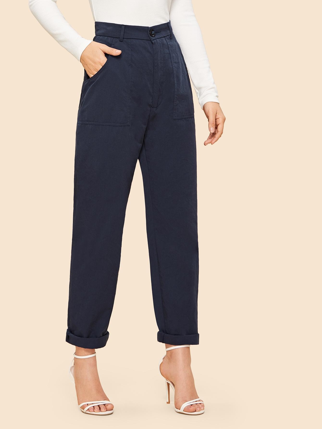 70s брюки с пуговицами и карманом thumbnail