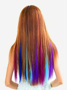 12 Color Clip In Hair Extension