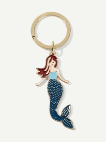 Mermaid Charm Keychain
