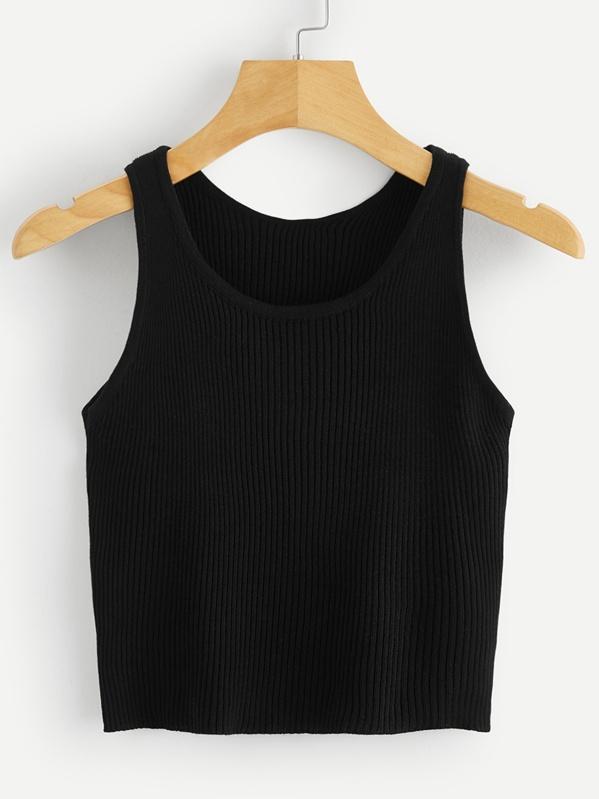 1f61b370b6792 Cheap Scoop Neck Rib-knit Slim Fitted Tank Top for sale Australia ...
