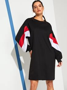 Cut And Sew Sweat Dress
