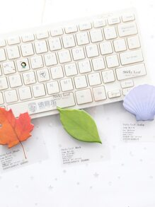 Leaf Shaped Sticky Note 4packs